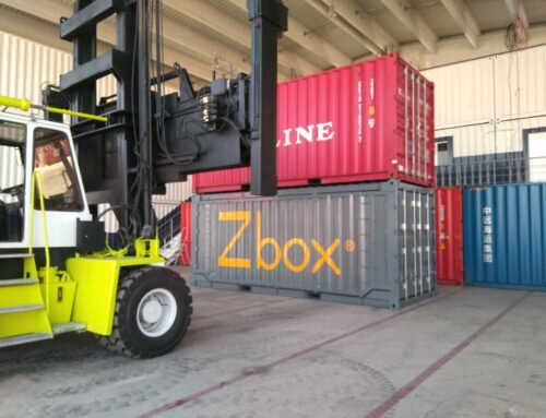 Navlandis, revolutionizes shipping with its Zbox folding container