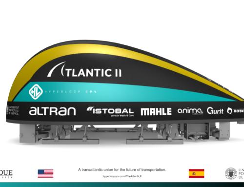 La UPV presenta en EE.UU. Atlantic II, el prototipo español de tren del futuro