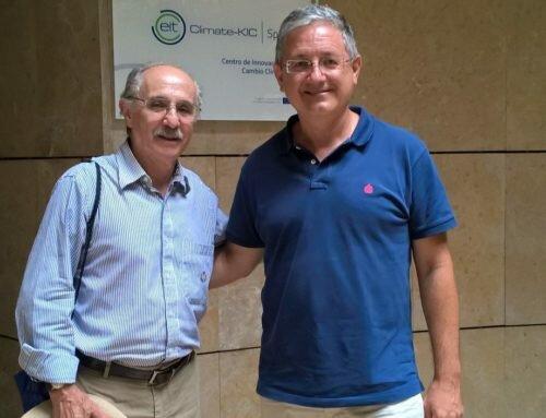 Un año más el Nobel Edward Rubin visita Climate-KIC Spain
